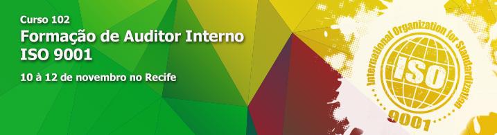 Formação de auditor interno ISO 9001