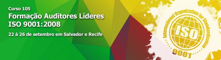 Formação de Auditor Líder ISO 9001:2008