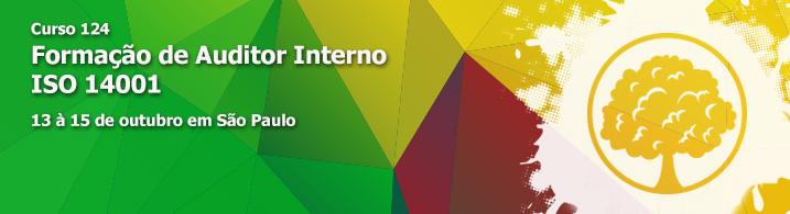 Formação de Auditor Interno da ISO 14001